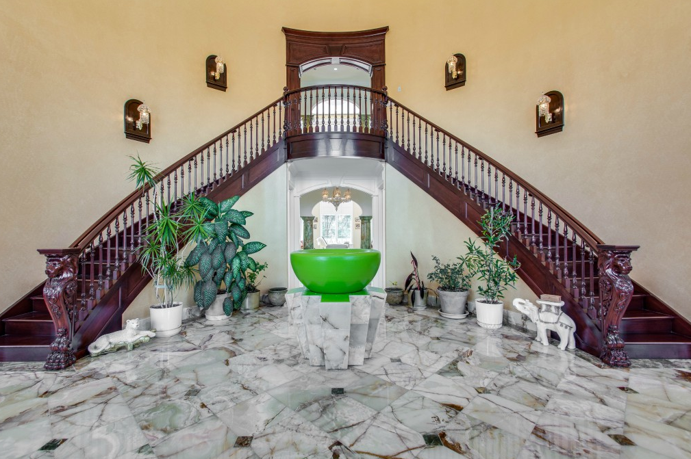 10 Million 22 000 Square Foot Brick Mansion In South