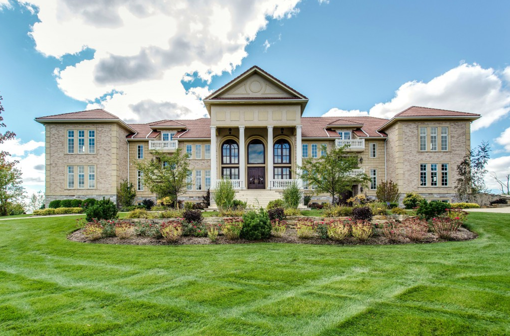 $10 Million 22,000 Square Foot Brick Mansion In South Barrington, IL