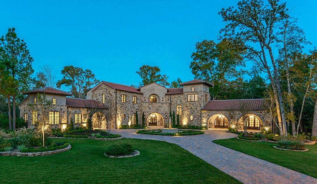 $3.3 Million Newly Built European Inspired Home In Spring, TX