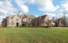 25,000 Square Foot Brick & Stone Mega Mansion In Weldon Spring, MO