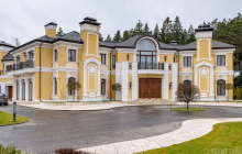 29,000 Square Foot Mega Mansion In Russia