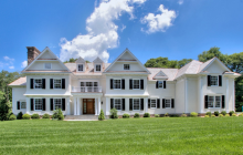 $3 Million Newly Built Colonial Home In New Canaan, CT