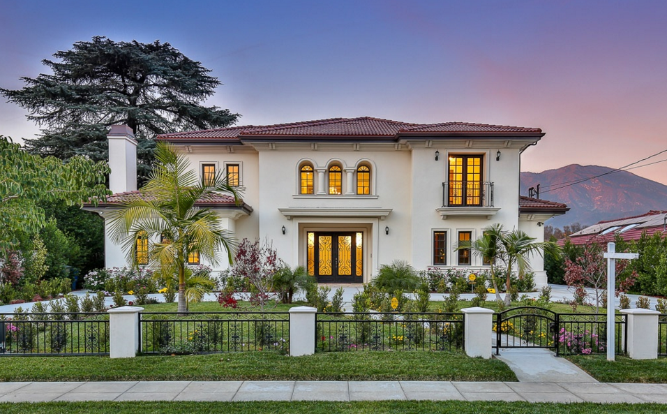 $3.2 Million Newly Built Mediterranean Home In Arcadia, CA