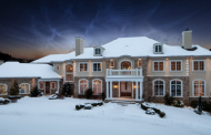 11,000 Square Foot Stone & Stucco Mansion In Shillington, PA