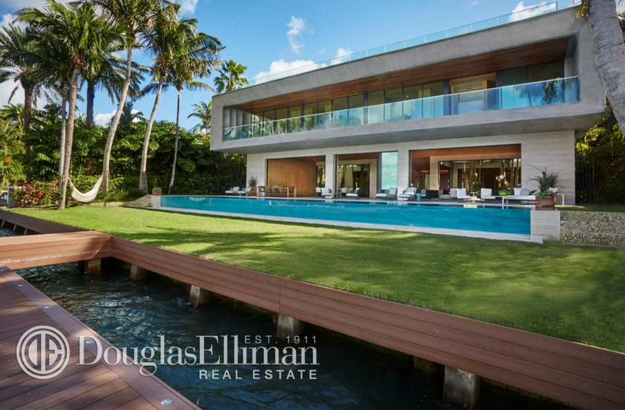 $36 Million Newly Built Contemporary Waterfront Mansion In Bal Harbour, FL