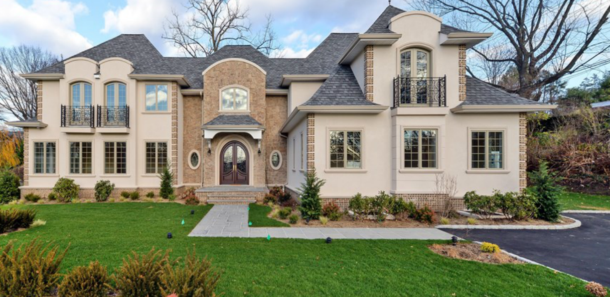 $3.998 Million Newly Built French Inspired Home In Great Neck, NY