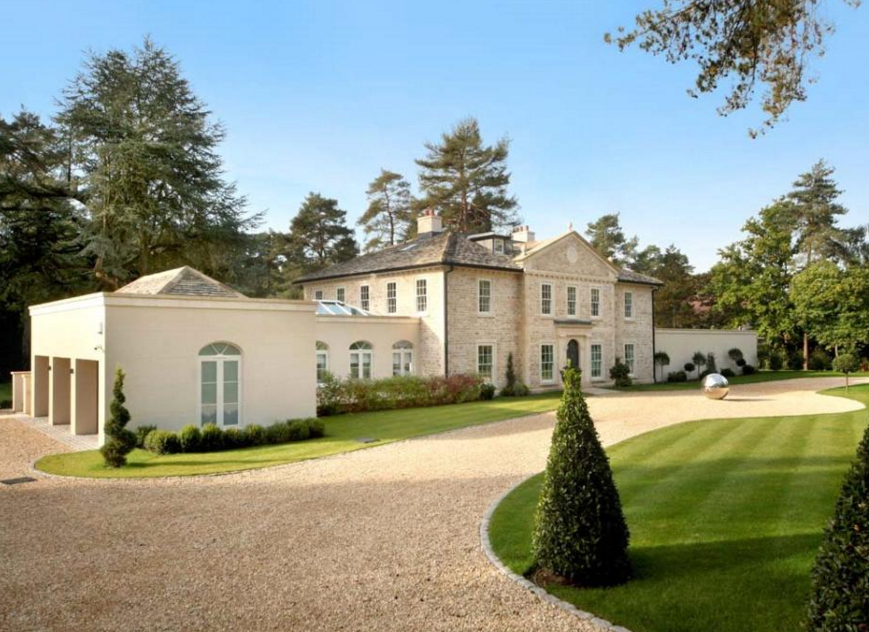 Waverton A Newly Built Mansion In Surrey England