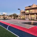 Rear Exterior w/ Basketball/Tennis Court
