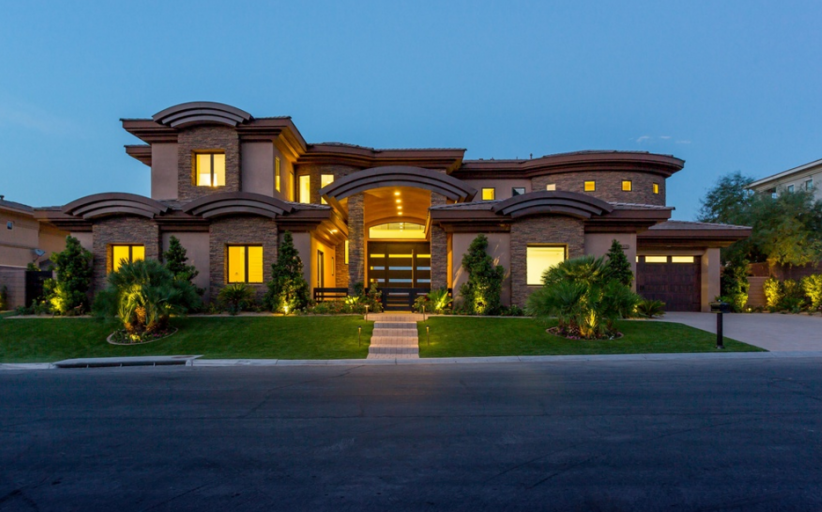 $3.995 Million Newly Built Contemporary Mansion In Henderson, NV