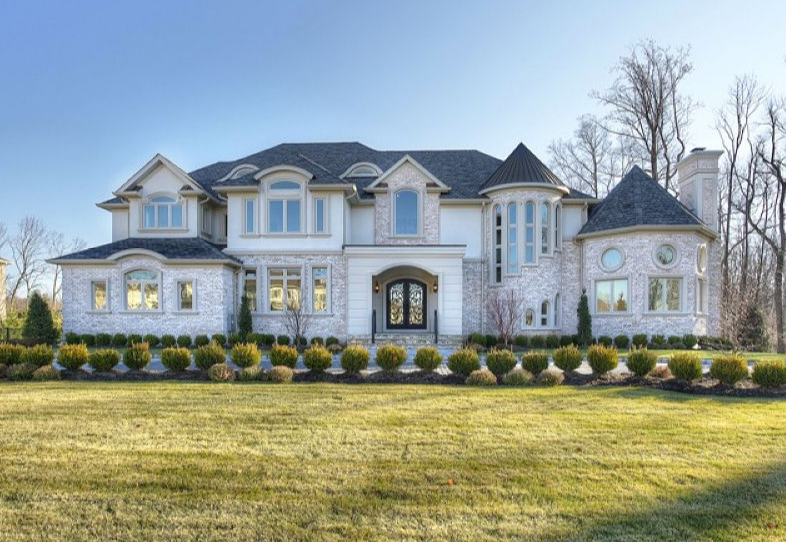 $3.6 Million Newly Built Brick U0026 Stucco Mansion In Livingston, NJ | Homes  Of The Rich