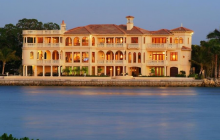 14,000 Square Foot Waterfront Mansion In Sarasota, FL