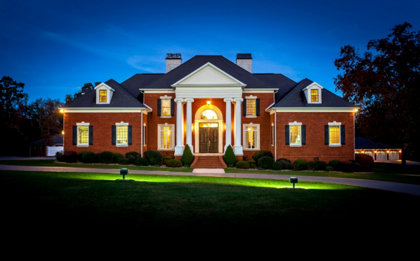 $2.4 Million Brick Mansion On 141 Acres In Clarkrange, TN