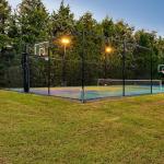 Basketball/Tennis Court