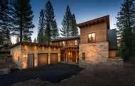 $3.195 Million Newly Built Wood & Stone Home In Truckee, CA