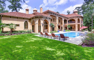 $3.199 Million Mediterranean Country Club Home In Spring, TX