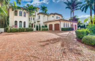 $6.25 Million Mediterranean Waterfront Home In Golden Beach, FL