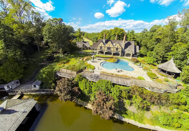 $5.9 Million Waterfront Tudor Mansion In Annapolis, MD