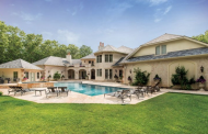 $6.995 Million French Inspired Brick & Stucco Home In Bridgehampton, NY