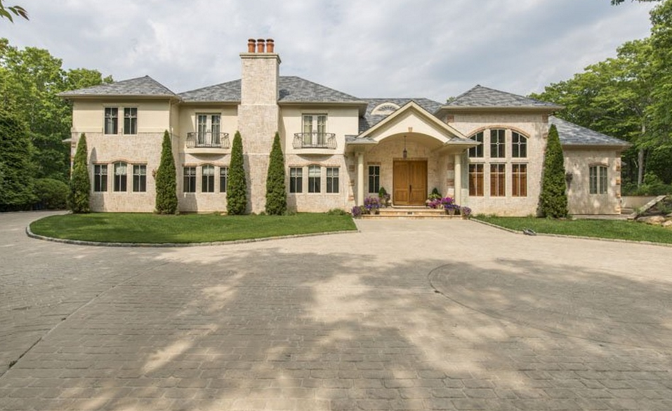 Million French Inspired Brick Stucco Home In