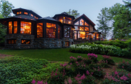 11,000 Square Foot Lakefront Mansion In Lake Placid, NY