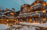 $9.4 Million Wood & Stone Mountaintop Mansion In Park City, UT