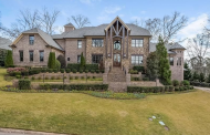 14,000 Square Foot Brick Country Club Mansion In Marietta, GA