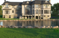 12,000 Square Foot French Inspired Lakefront Mansion In Saddle River, NJ
