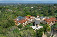A Tech Entrepreneur's $88 Million Mansion In Los Altos Hills, CA