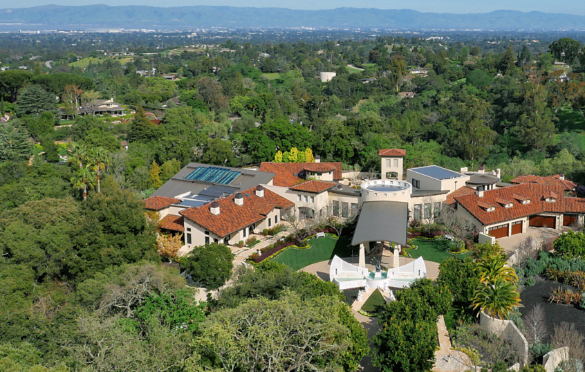 A Tech Entrepreneurs 88 Million Mansion In Los Altos Hills Ca on 3 Car Garage With Apartment Plans