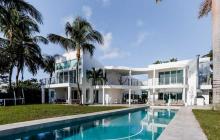 $12.8 Million Modern Waterfront Home In Key Biscayne, FL