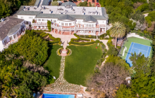 Four 30,000 Square Foot Mega Mansions That Hit The Market In 2015
