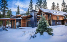 $7.5 Million Newly Built Mountaintop Home In Truckee, CA