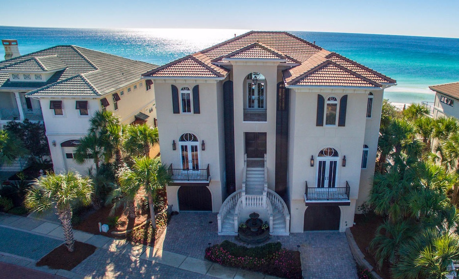 $5.95 Million Beachfront Home In Santa Rosa Beach, FL