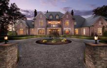 $2.9 Million Brick Mansion In Avon, CT
