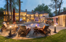 11,000 Square Foot Brick & Stone Mansion In Dakota Dunes, SD