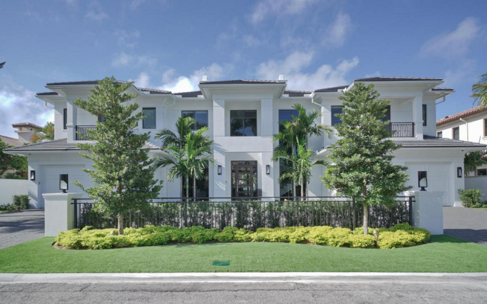 $9.25 Million Newly Built Waterfront Home In Boca Raton, FL