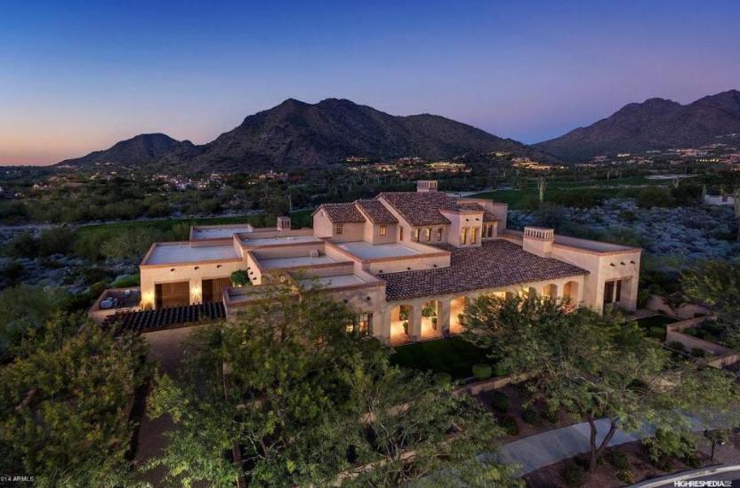 $3.25 Million Spanish Style Home In Scottsdale, AZ