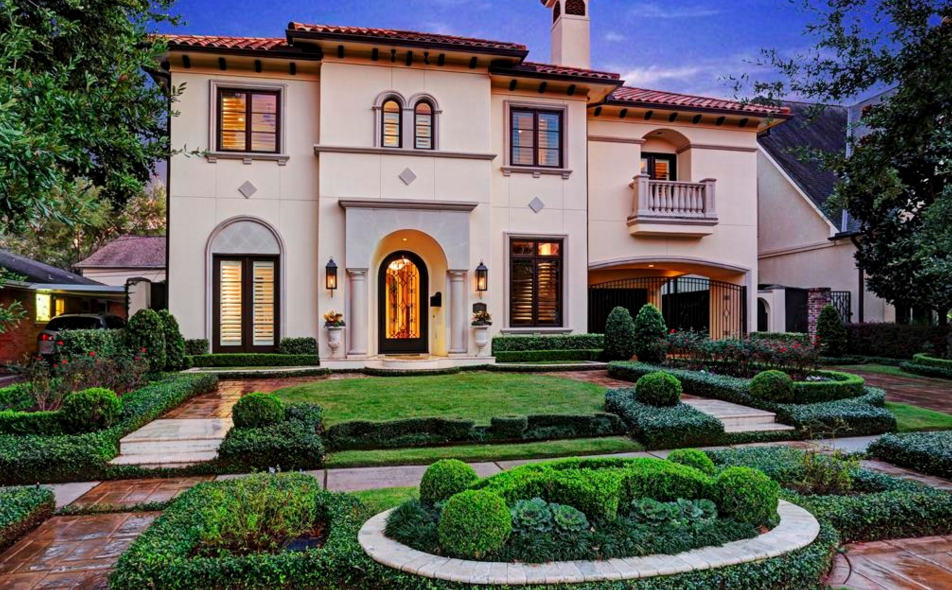 Million mediterranean home in houston tx homes Mediterranean style homes houston