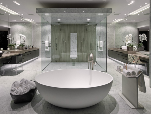 12 Modern Bathrooms | Homes of the Rich