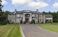 $2.7 Million Stone & Stucco Mansion In Greenwich, CT