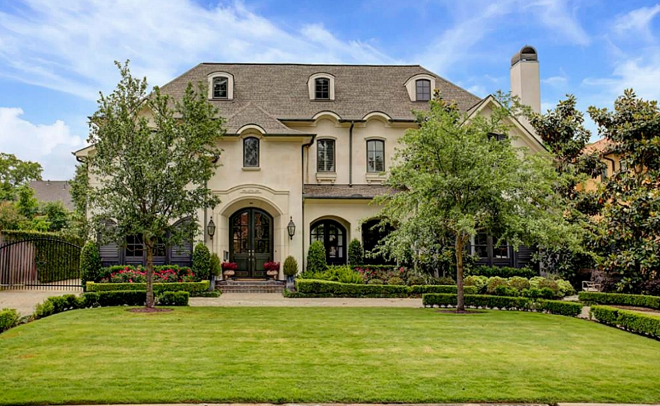 $3.175 Million French Inspired Home In Houston, TX