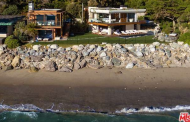 $22.5 Million Contemporary Beachfront Estate In Malibu, CA