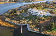$12.25 Million Modern Waterfront Home In Quogue, NY