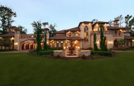 10,000 Square Foot Mediterranean Mansion In Spring, TX