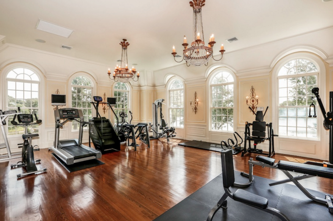 [divide]. Here is a look at 12 luxury home gyms.