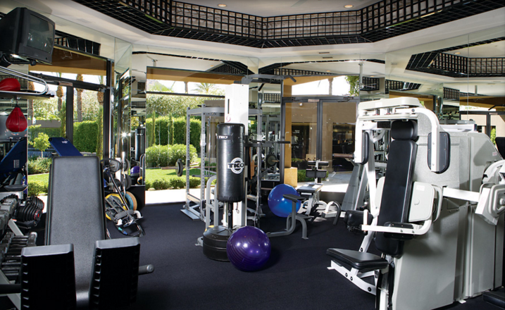 A look at 12 luxury home gyms homes of the rich for Luxury home gym