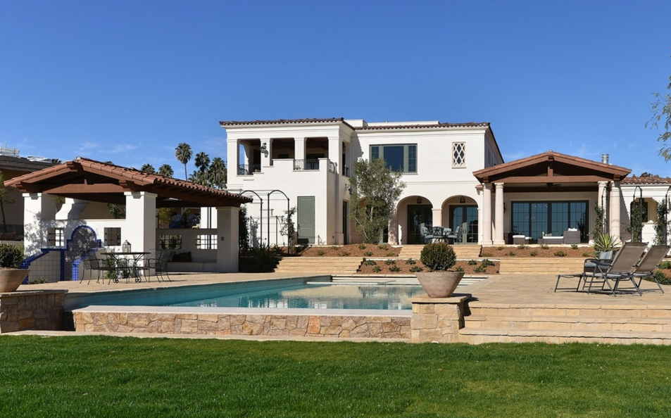 $9.7 Million Newly Built Santa Barbara Style Home In La Jolla, CA