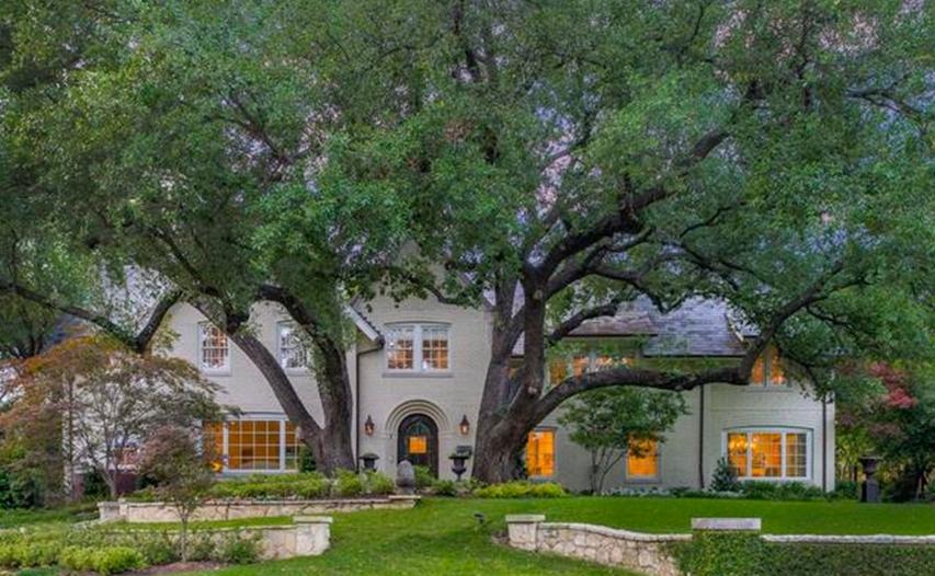 $6.995 Million Brick Tudor Home In Dallas, TX