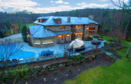 $3.85 Million Stone Mansion In Rockleigh, NJ
