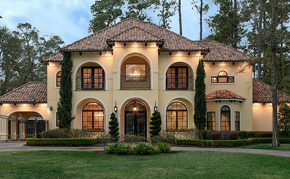 Million mediterranean home in houston tx homes of Mediterranean style homes houston